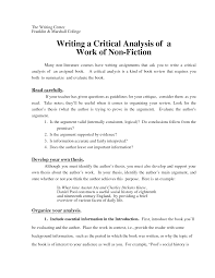 critical essay samples critical analytical essay format under fontanacountryinn com