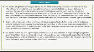 Iterator Design Pattern Amazing Decorating Design