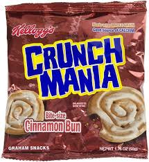 Vending Machine Cinnamon Roll Adorable Kelloggs Grab N Go Cinnamania Cinnamon Buns 4848 Oz