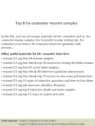 Hiv Counselor Cover Letter Sarahepps Com