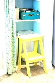 closet step stool closet stool closet step stool closet step stool pantry details no sew curtain closet step stool