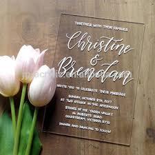 Wedding Supplies Transparent Acrylic Invitation Card Design Buy Invitation Card Design Acrylic Invitation Card Design Wedding Invitation Card Design