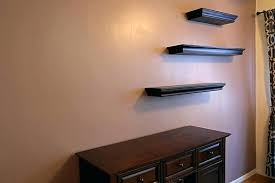 hanging shelves on drywall without studs hanging floating shelves without studs installing floating shelves hang floating hanging shelves on drywall