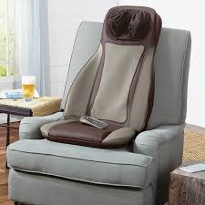 brookstone massage chair. brookstone s6 shiatsu massaging seat topper massage chair