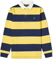 polo ralph lauren long sleeve striped rugby shirt