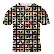 Ecstasy Pill Chart Bang Tidy Clothing Mens All Over Print Ecstasy Pills Drugs