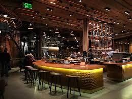 coffee bar. Starbucks Reserve Roastery \u0026 Tasting Room: Coffee Bar Top Level