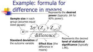 Statistical Power Formula Ppt Statistics In Medicine Powerpoint Presentation Id
