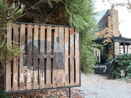 diy pallet iron pipe. Turn An Old Wooden Shipping Pallet Into Exterior Art Using Paint, Pipe And  Pressure-treated Trim. Diy Iron U