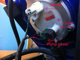 troubleshooting maintenance guide fuel pump battery charging black wires are chassis ground on both connections caution when working the fuel system use extreme caution and