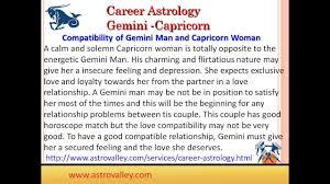 Gemini And Capricorn Compatibility Chart Capricorn Woman Compatibility Chart