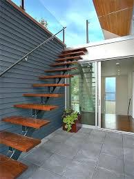 deck stair lighting ideas. Deck Stair Lighting Exterior Accessing Roof Terrace Modern Staircase Ideas .
