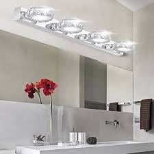 unique vanity lighting. Modern K9 Led Bathroom Make Up Crystal Mirror Light Round Head Unique Vanity Lights Lighting I