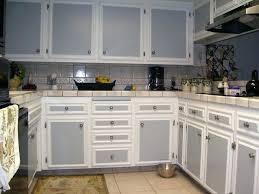 two tone cabinet idea kitchen cupboard door paint ideas