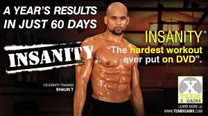 insanity a year s results in 60 days