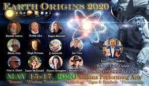 Earth Origins 2020 Fri Sun May 15 17 2020 Upper Seats M Q World Viewz Media