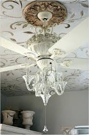 attach chandelier to ceiling fan the best of both worlds luxurious chandelier ceiling fan can i