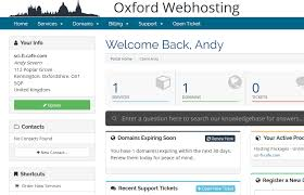 How do I manage my hosting account? - Knowledgebase - Oxford ...