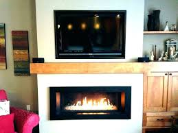 installing gas fireplace logs in existing line for ventless