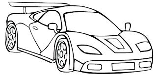 Car Printable Coloring Pages Pdf Printouts To Print As Free Race