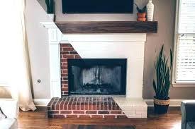 white mantel fireplaces mantel on brick fireplace white mantel shelf on brick fireplace