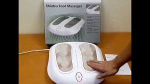 <b>Массажер для ног Anatomico</b> AT-123 Shiatsu - YouTube