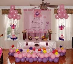 birthday stage decoration at home