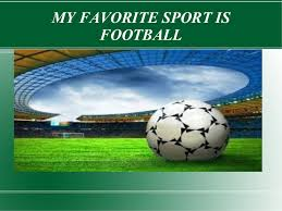 my favourite sport football