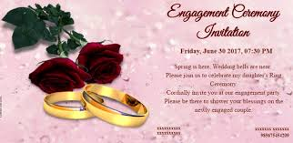 Cool Free Engagement Invitation Templates Online Collection