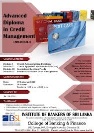 cobaf courses open for applications  advanced diploma in credit management