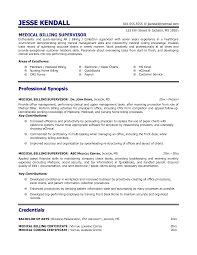 Sample Resume For Medical Billing sample resume for medical billing Enderrealtyparkco 1