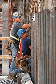 rebar workers broccolini construction in progress job site 150 slater street ottawa rebar worker