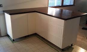 ikea butcher block countertops diy