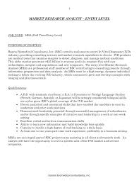 Market Research Resume Examples Entry Level Data Analyst Resume Template Sample Vesochieuxo 22