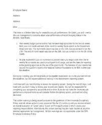 Disciplinary Appeal Letter Template Written Warning Appeal