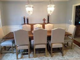 upholstery ideas for dining chairs wingback dining chair with nailhead trim dining room ideas