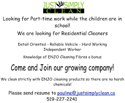 Cleaning Company Jobs Just Simply Clean London Ontario Cleaning Services Janitorial