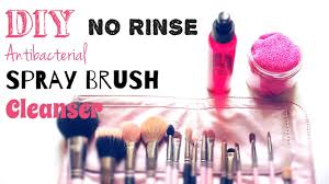 diy brush spray cleanser no rinse quick teaser of my project