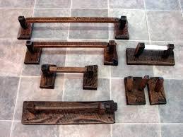 towel stand wood. Wooden Towel Rail Freestanding Rack Rustic Reclaimed Oak Barn Wood Bathroom Accessories Bar . Stand