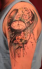 Pocket Watch By Gene Coffey At Tattoo Culture In Brooklyn Ny