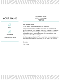 Downloadable Cover Letter Templates 13 Free Cover Letter Templates For Microsoft Word Docx And