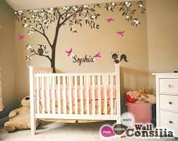 baby girl tree wall decals baby room decals trees awesome baby room decals trees extra large