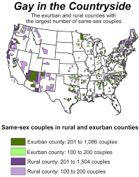 Gay counties in america