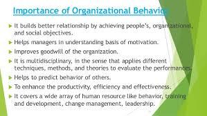 What Is Organizational Behavior Organizational Behavior