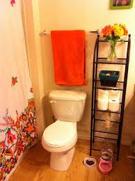 Toilet Decor Hanging Bathroom Towel Decorating Ideas Towel