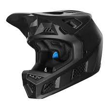 Fox Downhill Mtb Helmet Rampage Pro Carbon Matte Black