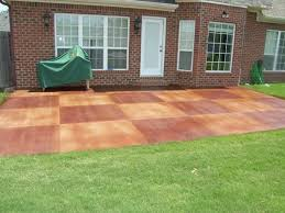 exterior exquisite green grass flooring garden with brown