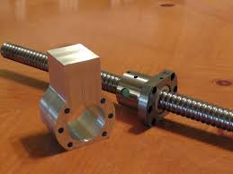 Ball Screw Rotating Nut Design Ballscrew Upgrade How To Make Your Own Cnc Milling Machine