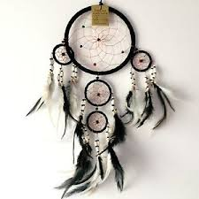 How To Make Authentic Dream Catchers NEW BLACK WITH WOODEN BEAD TRADITIONAL DREAM CATCHER NATIVE 97