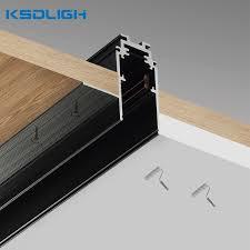 aluminium magnetic led light rail track